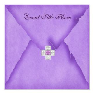 Jeweled Custom Party Invitation