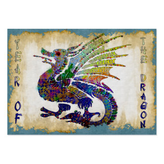 Jeweled Dragon Pack Of Chubby Business Cards