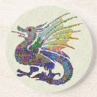 Jeweled Dragon Coaster