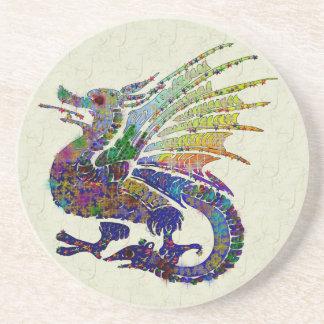 Jeweled Dragon Drink Coaster