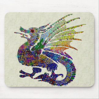 Jeweled Dragon Mouse Mat