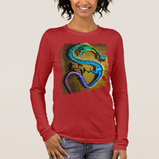 Jeweled Dragon T-Shirt, by Joseph Maas Long Sleeve T-Shirt