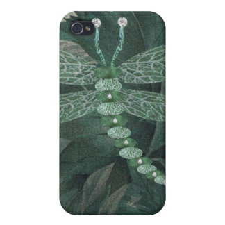 Jeweled Dragonfly iPhone 4 Case
