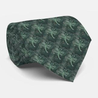Jeweled Dragonfly Tie