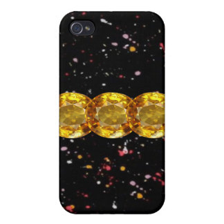 Jeweled I Phone Case iPhone 4 Cases