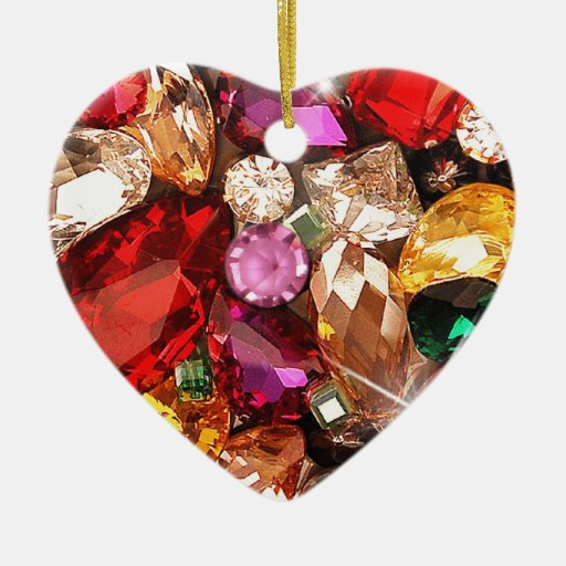 Jeweled Jewels Sparkle Gems Color Ornament