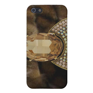 Jeweled & Mink I Phone Case iPhone 5 Cover