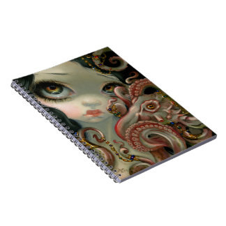 """""""Jeweled Octopus"""" Notebook"""