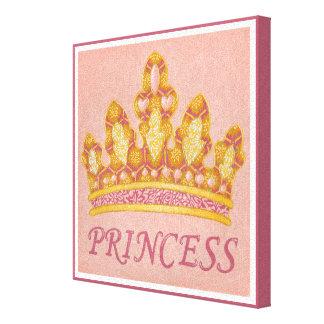 Jeweled Princess Crown by Chariklia Zaris Canvas Print