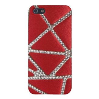Jeweled & Rhinestone faux I Phone Case iPhone 5/5S Case