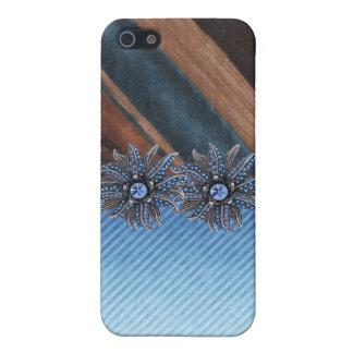Jeweled & Rhinestone faux I Phone Case iPhone 5 Covers