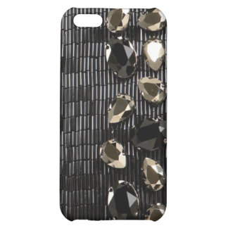 jeweled & Rhinestone faux I Phone Case iPhone 5C Covers