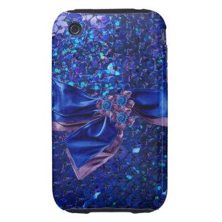 Jeweled & Rhinestone Faux IPhone 3 Case