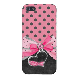 Jeweled,ribbon,bows & Rhinestone I Phone Case iPhone 5/5S Cover