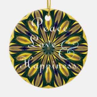 Jeweled Star Ornament