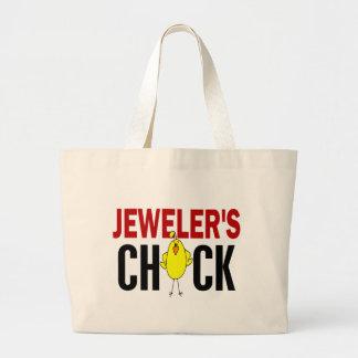 JEWELER'S CHICK CANVAS BAG