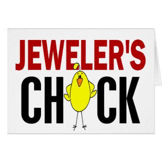 JEWELER'S CHICK CARD