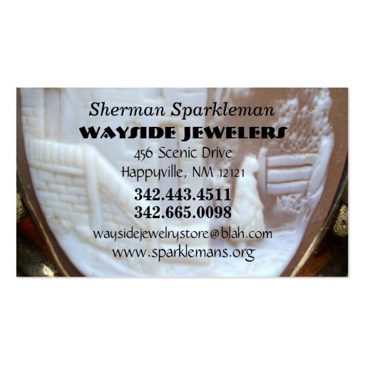 Jewelers Antique Collectors Business Card