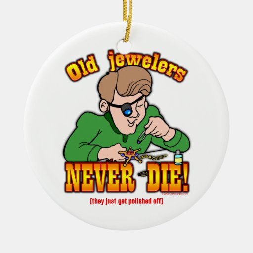 Jewelers Christmas Ornament