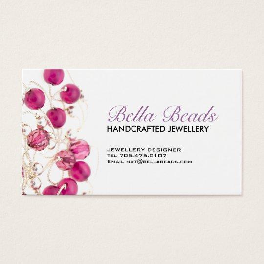 Jewelery Designer Business Card