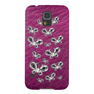 Jewell Butterflies Galaxy S5 Covers