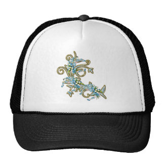 jewell flowers cap