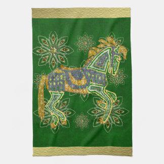 Jewelled Artistic Horse Towels