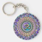Jewelled Astrosymbology Mandala Keychain