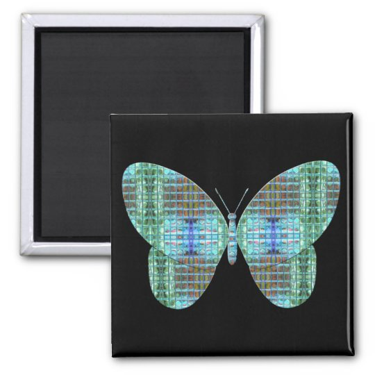 Jewelled Butterfly glass effect Magnet