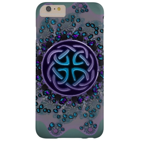 Jewelled Celtic Fractal Mandala iPhone 6 Plus Case