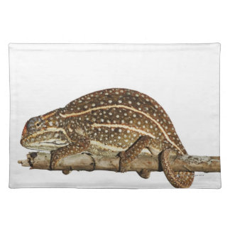 Jewelled chameleon, Campan's chameleon Placemat