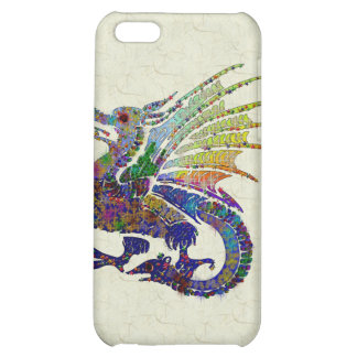 Jewelled Dragon iPhone 5C Cover