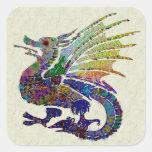 Jewelled Dragon Stickers
