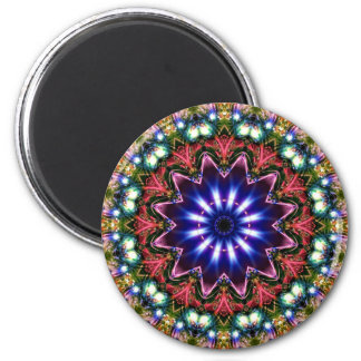 Jewelled Kaleidoscope 11 Magnet