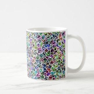Jewelled mosaic coffee mug