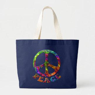 Jewelled Peace Dark Bags