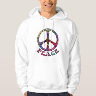 Jewelled Peace Hoodies