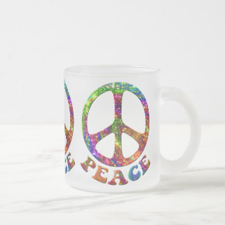 Jewelled Peace Mugs