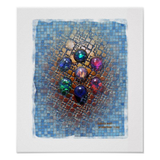 Jewelled Tiles (0001) Poster