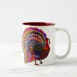 Jewelled Turkey Coffee Mugs