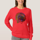 Jewelled Turkey T-Shirt