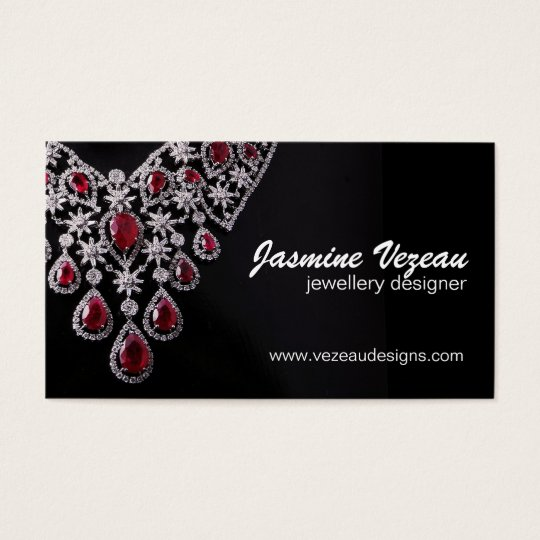 Jeweller Business Cards