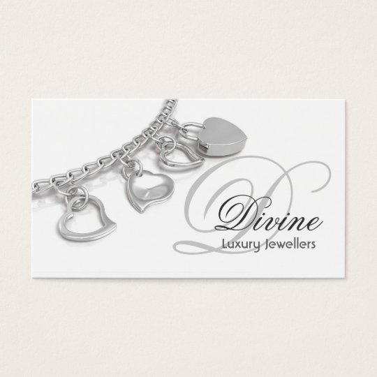 Jewellers Monogram Business Card