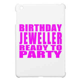 Jewellers : Pink Birthday Jeweller Ready to Party Case For The iPad Mini