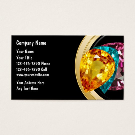 Jewellery Business Cards