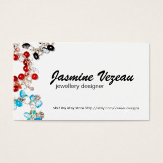 Jewellery Designer Business Cards