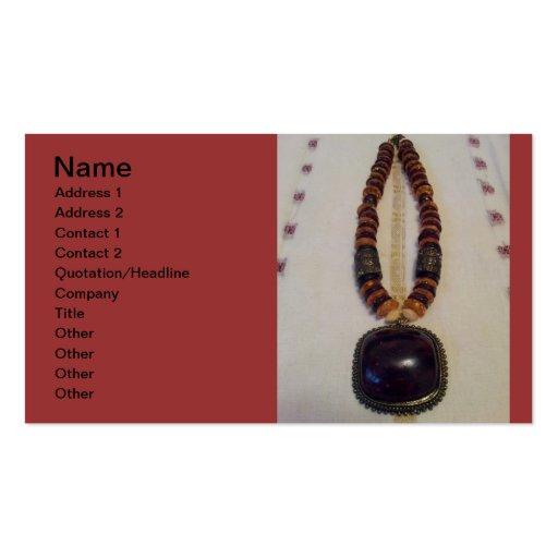 jewellery designer card business card template