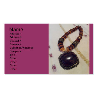 jewellery designer card pack of standard business cards