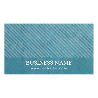 Jewellery Designer Modern Teal Blue Pack Of Standard Business Cards