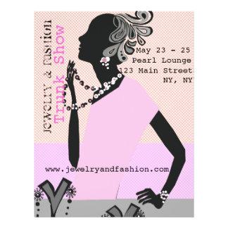 Jewellery Fashion Trunk Show 21.5 Cm X 28 Cm Flyer